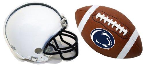 Penn State Nittany Lions Helmet and Football Magnet Set