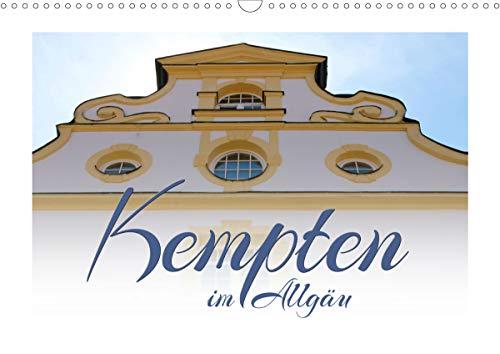 Kempten im Allgäu (Wandkalender 2021 DIN A3 quer)
