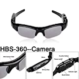 ierkag HD Video Recording Sunglasses Voice Recording Eyewear Digital Glasses Sports & Action Video Cameras Glasses