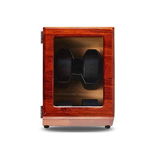 AMAFS Caja de Reloj, Puede acomodar 2 Relojes automáticos, Motor antimagnético Ultra silencioso, Almohada de Reloj Suave y elástica, tamaño 23 * 21 * 15 cm Happy House