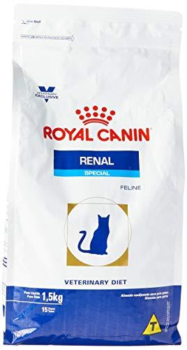 Ração Royal Canin Feline Veterinary Diet Renal Special para Gatos com Doenças Renais 1,5kg Royal Canin para Todas Todos os tamanhos de raça Adulto - Sabor Outro