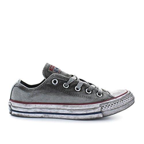 Converse Scarpe Unisex Chuck Taylor all Star Basic Wash Ltd - Grigio, 37