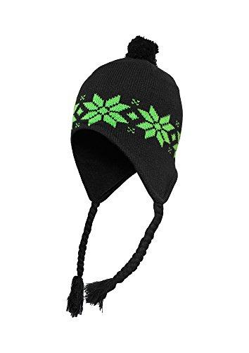 Urban Classics Men's TB315 Norwegian Beanie Hat One Size Blk/LGR