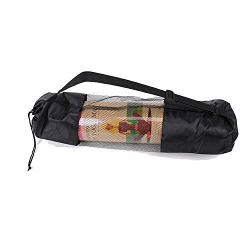VIWIV Yogamatten-Netztasche, Verlängern Verbreitertes Yogamatten-Rucksack-Netztaschen-Ineinander Greifen, Verwendbar Für Yoga-Eignungsmatten-Taschen-Netztasche