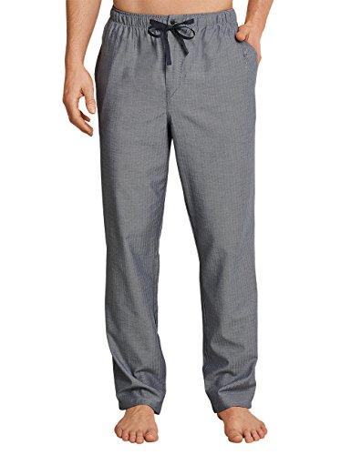 Schiesser Herren Mix & Relax Hose Lang Schlafanzughose, Grau (Dunkelgrau-Gem. 214), X-Large (Herstellergröße: 054)