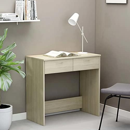 vidaXL Escritorio de Ordenador Estudio Lugar de Trabajo Despacho Extensible Mueble de Oficina...