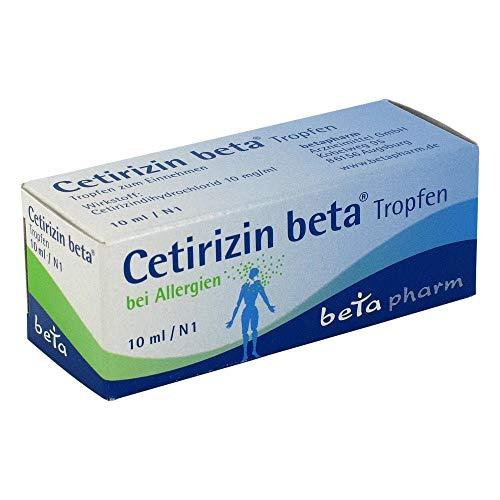CETIRIZIN beta Tropfen zum Einnehmen 10 ml