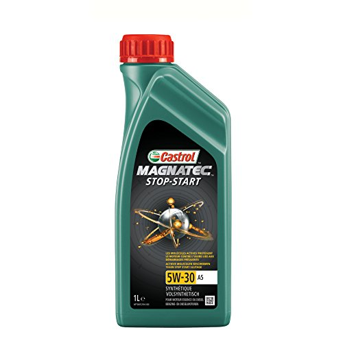 Castrol 1845052 Motoröl 159B90 Magnatec Stop-Start 5W-30 A5 1-Liter, Brown, 1 l