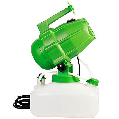 Nebulizzatore Disinfettante Ambienti Migaven, 5 Litri Elettrico Ulv Nebulizzatore Portatile, ULV Fogger Nebulizzatore Intelligente Spruzza Spruzzatori industriali per Ufficio Agricolo Verde