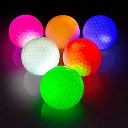THIODOON Glow Golf Balls Led