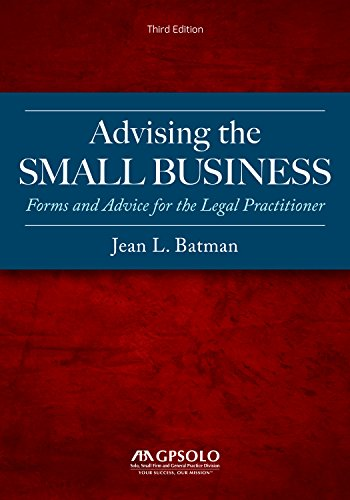 Compare Textbook Prices for Advising the Small Business Third Edition ISBN 9781641051538 by Batman, Jean L.