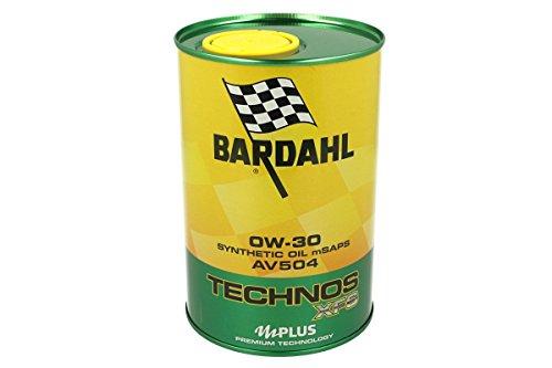 BARDAHL TECHNOS xfs C3AV5040W30Motoröl Schmierstoffe Auto 1lt