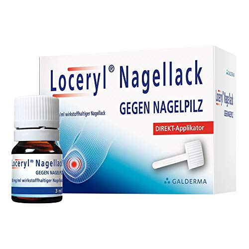 Loceryl Nagellack mit Direkt-Applikator gegen Nagelpilz, 3 ml Lösung
