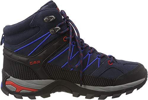 CMP – F.lli Campagnolo Herren Rigel Mid Shoe Wp Trekking- & Wanderstiefel, Blau (B.Blue-Royal 10nc), 42 EU