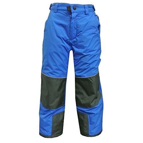 Outburst - Mädchen Skihose Latzhose Schneehose Wasserdicht 10.000 mm Wassersäule, blau - 4504046b, Größe 122