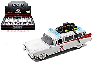 Jada 30207-DP1 Diecast1: 32 Display - Metals - Ghostbusters Ecto-1 1Pc No Retail Box, White