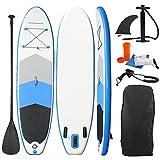 Women's Health Tabla de Surf de Remo Hinchable, Sup Hinchable de Paddle Kit, con Accesorios para Tabla de Surf, para Adultos y Niños