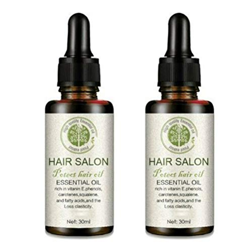 N-A Hair Regrowth Serum Friseursalon, Hair Care Essential Oil Treatment für weiches Haar Reine Haarpflege mit einem Hauch von Geschmeidigkeit (2 Stück)