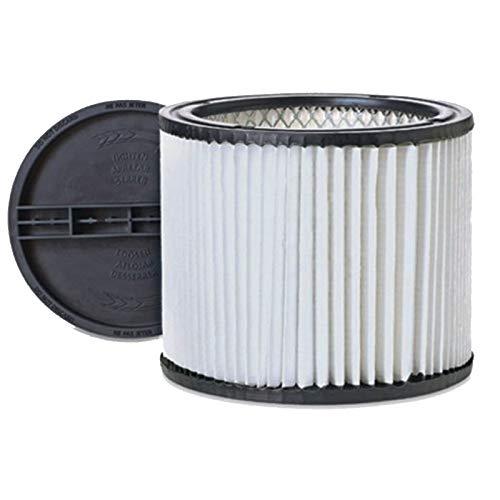 Ximoon Vacuum Cleaner Cartridge Filter for Shop-vac 90304 & Retaining Lid 4518600