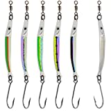Peetz Hammer 3.25-Inch 'Coastal Killer' Needlefish Spoon Fishing Lure 5-Pack | High Performance Fishing Tackle