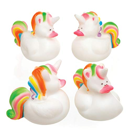 """Baker Ross Badeenten """"Regenbogen-Einhorn"""" für Kinder als kleine Überraschung oder als Preis..."""