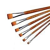 NIBABA Set De Borchas Los Pinceles de Gouache de gouaches se establecen la Lana de Nylon Buena absorción de Agua y la Elasticidad de Pintura de Arte Fino Adecuado para Pintura De Acuare