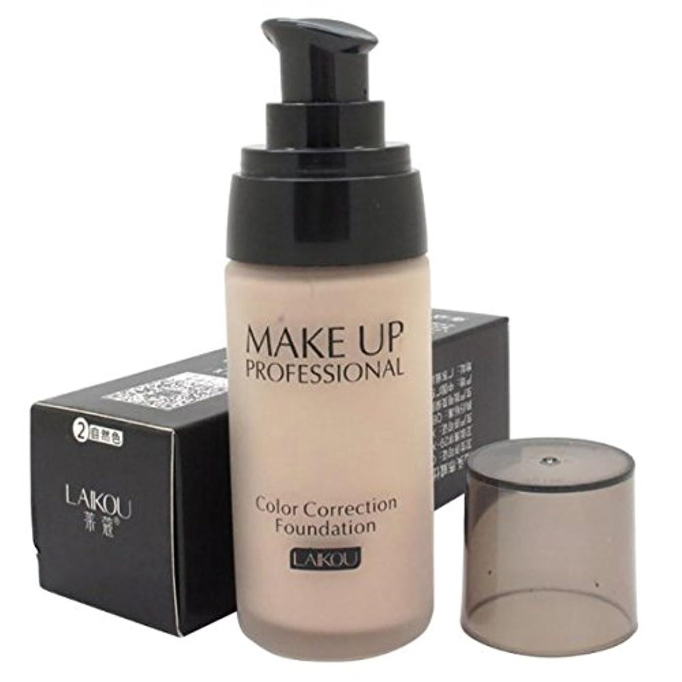 スパン協力的ラック40 ml Whitening Liquid Foundation Concealer Moisturizer Oil-control Waterproof Makeup NO.2
