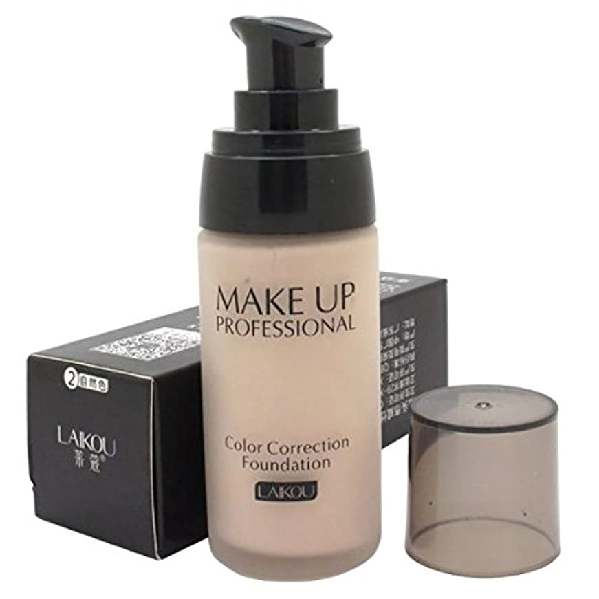 代数相談する行方不明40 ml Whitening Liquid Foundation Concealer Moisturizer Oil-control Waterproof Makeup NO.2