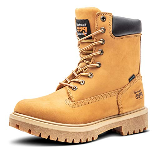 Timberland PRO Men's Direct Attach 8 Steel Toe Boot,Wheat,12 M