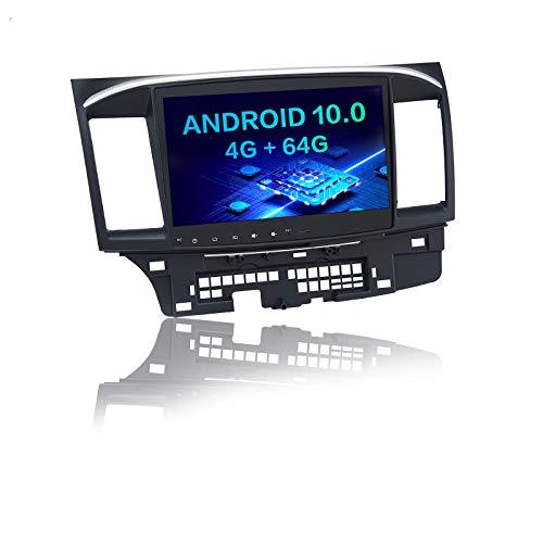 Dasaita 10.2 Inch Android Car Radio for Mitsubishi Lancer 2008 2009 2010 2011 to 2017 Bluetooth Head Unit with Carplay Android Auto SWC Hotspot 15Band EQ