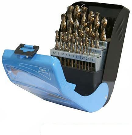 Silverline 783089 NEW before selling Cobalt Drill Bit Quality inspection Set 1 25-piece - 13mm