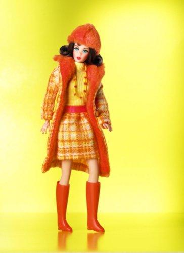 Barbie Etiqueta de Oro coleccionista - Reproducción Vintage de los 1969 Hechos...