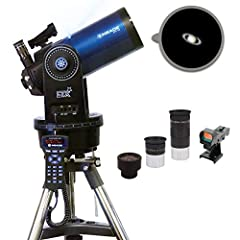 "Apeture 127mm/ Focal length 1900mm, Ratio: f/15, multi-coated optics / Internal Flip Mirror System for dual viewing Two 1. 25"" 9. 7mm and 26mm Super Plossl Eyepieces / Red-dot viewfinder Fork Mount with DC Servo Motors, Full Size Steel Tripod with EQ..."