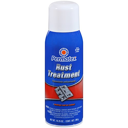Permatex 81849-12PK Rust Treatment, 10.25 oz. net Aerosol Can (Pack of 12)