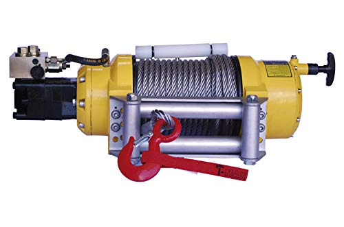T-MAX Cabestrante industrial hidráulico CHWPRO-12000 de 5440kg