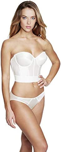 Dominique Women s Noemi Strapless Backless Bra Ivo32DD E Ivory product image