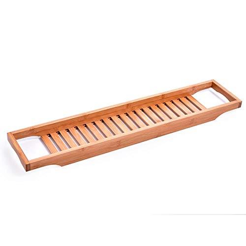 Kutera Handig Nonslip Bodem Badkuip Plank Badkuip Caddy Lade Bamboe Spa Badkuip Caddy Opslag Zeep Boek Wijn Tablet Handdoek Houder