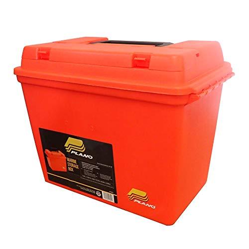 Plano Extra Large Dry Storage Box with Tray Orange