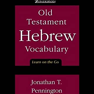 Old Testament Hebrew Vocabulary cover art