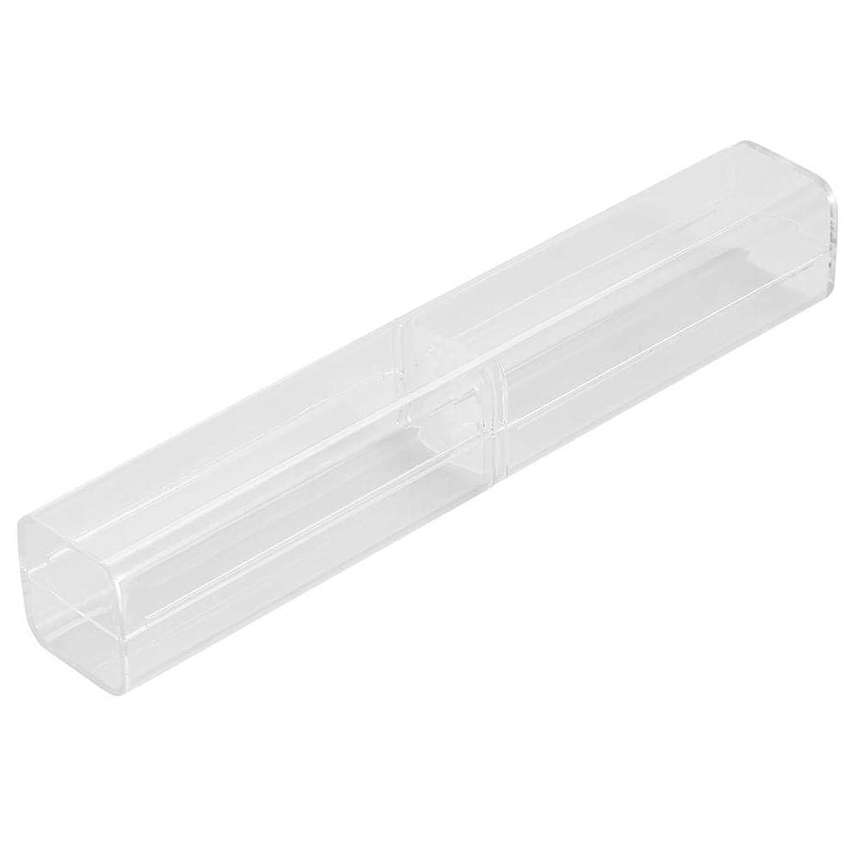 特異なファックス虚弱1ピース収納ボックス - 手動ペン眉毛タトゥークリアケース透明収納ボックス、収納ボックス - タトゥーコンテナ