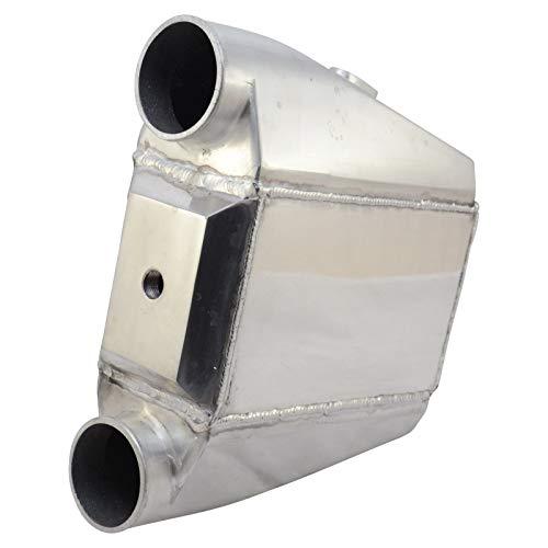 Wassergekühlter Ladeluftkühler Alu 310x340x115mm Wasser LLK Turbo Intercooler