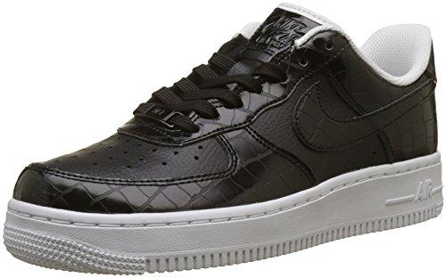 Nike Wmns Air Force 1 '07 ESS, Zapatillas de Gimnasia para Mujer, Negro (Black/Black-White 001), 43 EU