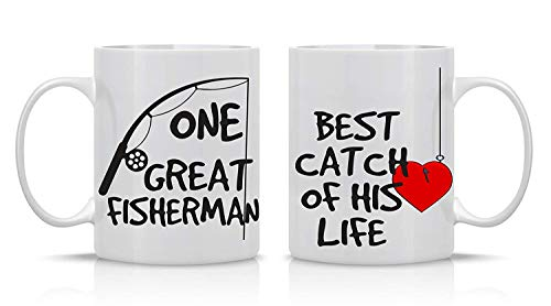 Rogue River Coffee Mug ID Rather Be Fishing Fish Novelty Cup Great Gift Idea For Men Him Dad Grandpa Fisherman