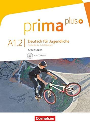 Prima plus A1.2 arbeitsbuch mit CD-rom: Mit interaktiven Übungen auf scook.de
