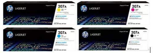 HP Original Toner Multipack 207A (je 1 x W2210A W2211A W2212A W2213A) für HP Color Laserjet Pro M255 M282 M283
