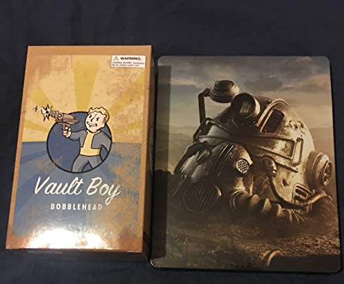 Fallout 76 Steelbook Xbox One (case only) + Fallout 4 Energy Weapons Bobblehead