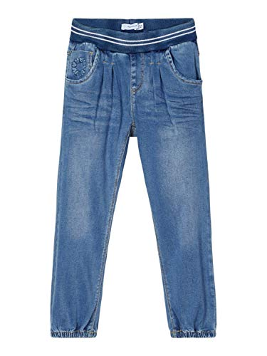 NAME IT Girl Jeans Powerstretch Baggy Fit 104Medium Blue Denim