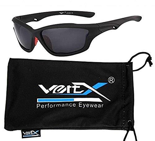 VertX Polarizzataocchiali da sole maschilesportiviciclismoin esecuzioneall'aperto–grigiotelaiolenteverde