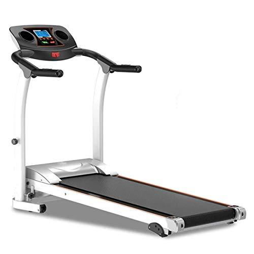 Compacte loopband Opvouwbare stalen frame loopbanden, verstelbare helling Fitness Oefening Cardio-jogging met noodsysteem Handgreep Polssensor