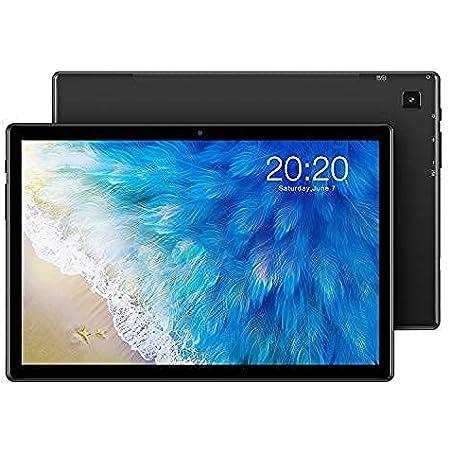 TECLAST M40 Gaming Tablet 10 Zoll, 6GB RAM+128GB ROM, 4G LTE+5G WiFi, Android 10 Tablett PC T618 Vier Kern 2.0Ghz Prozessor, 1920x1200FHD, 5MP+8MP Kamera, GPS+SIM+WLAN, BT5.0, 6000mAh, Typ C(512GB TF)